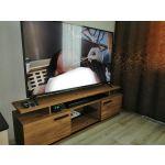 Тумба под телевизор ГМФ ТТВ3 Nature цвет дуб табачный craft/черный