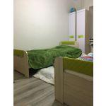 Кровать Аквилон 900.3 new Стиль цвет туя светлая/лайм