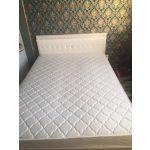 Купить Кровать Комфорт-S М9 Гертруда 140*200 цвет белая лиственница/ясень жемчужный