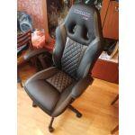 Кресло компьютерное Chairman  GAME 15 цвет чёрный/серый