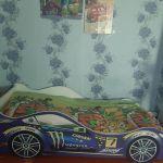 Кровать Бельмарко Молния цвет синий