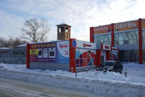 Улица Гагарина, дом 7, строение В, на территории магазина Корпорации «Центр»