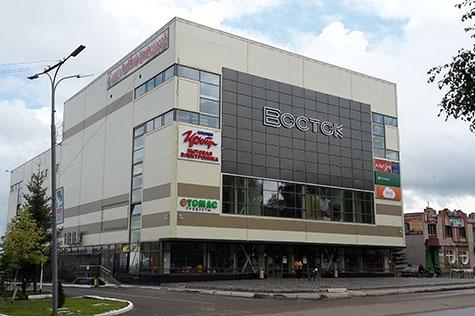 Улица Ленина, дом 3А, ТРЦ «Восток», на территории магазина Корпорации