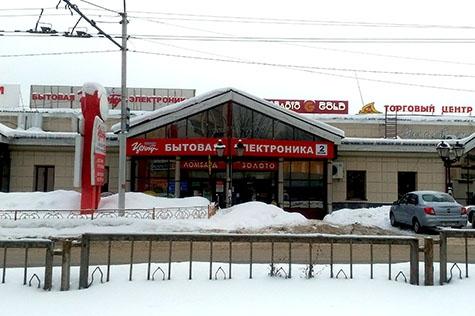 Улица Герцена, дом 3В, ТЦ «Корона», на территории магазина Корпорации