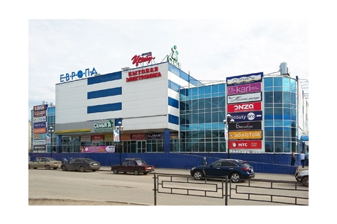 Улица Северная, дом 55, ТЦ «Европа», цокольный этаж, на территории магазина Корпорации