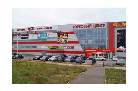 Улица Г.Кариева, дом 1, строение Д, ТЦ «Шифа», на территории магазина Корпорации